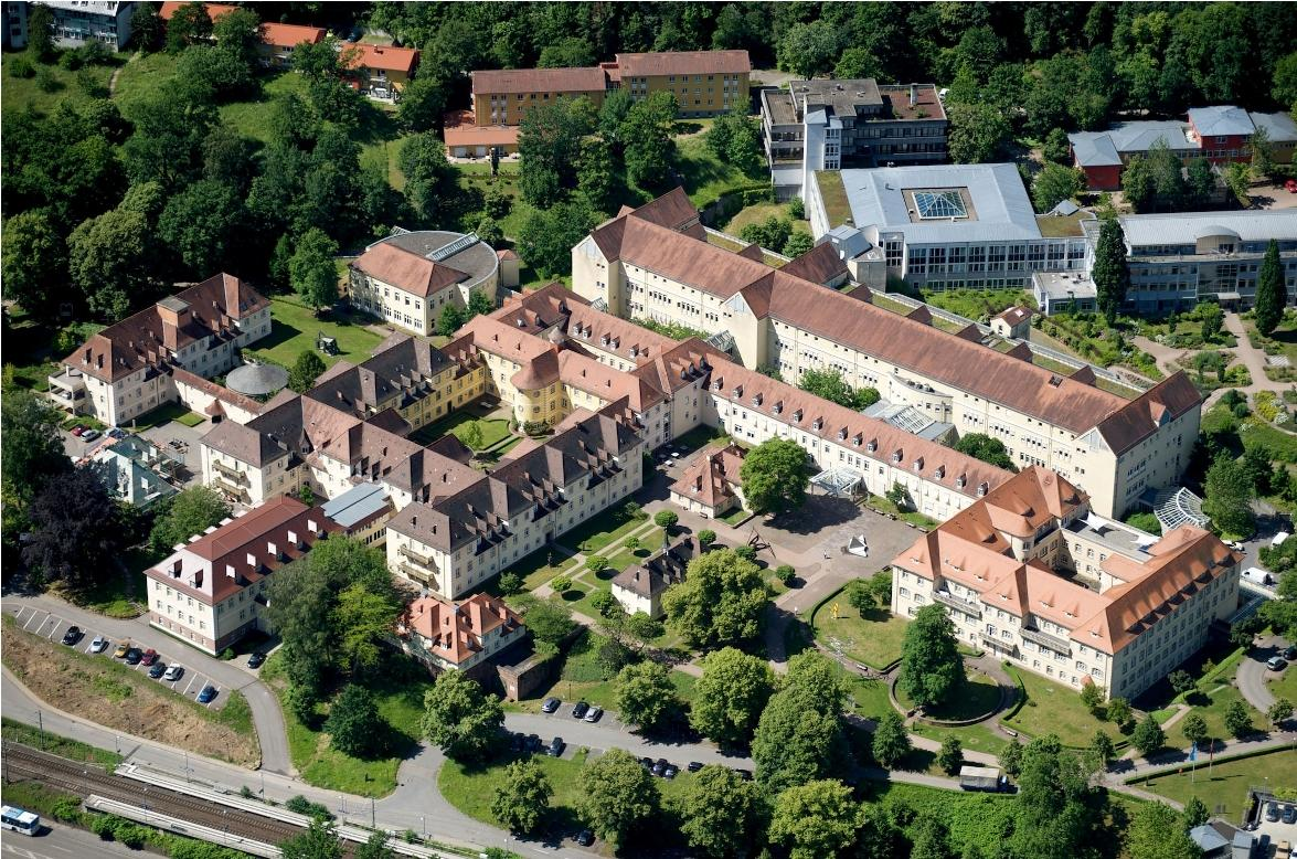 Aerial View Orthopedic Hospital - Heidelberg University Hospital - مستشفى هايدلبرج الجامعي