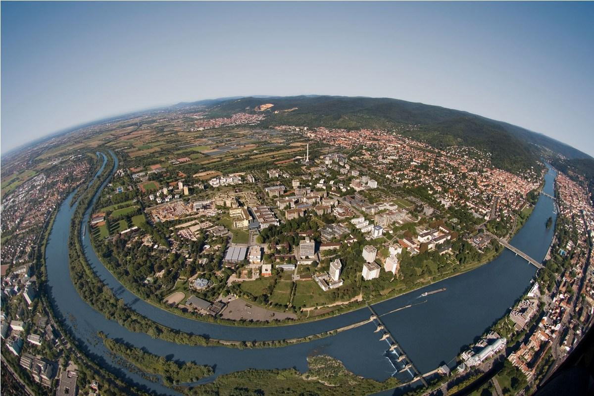 Aerial View of the Campus - Heidelberg University Hospital - مستشفى هايدلبرج الجامعي