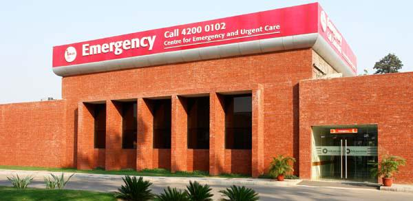 Centre for Emergency and Urgent Care - Moolchand Medcity - مدينة مولشاند الطبية