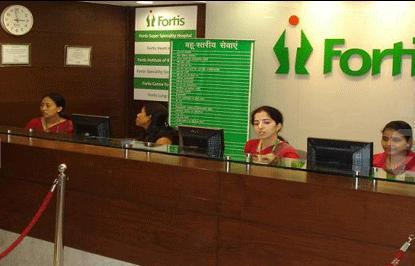 Reception - Fortis Vasant Kunj - فورتيس فاسانت كونج