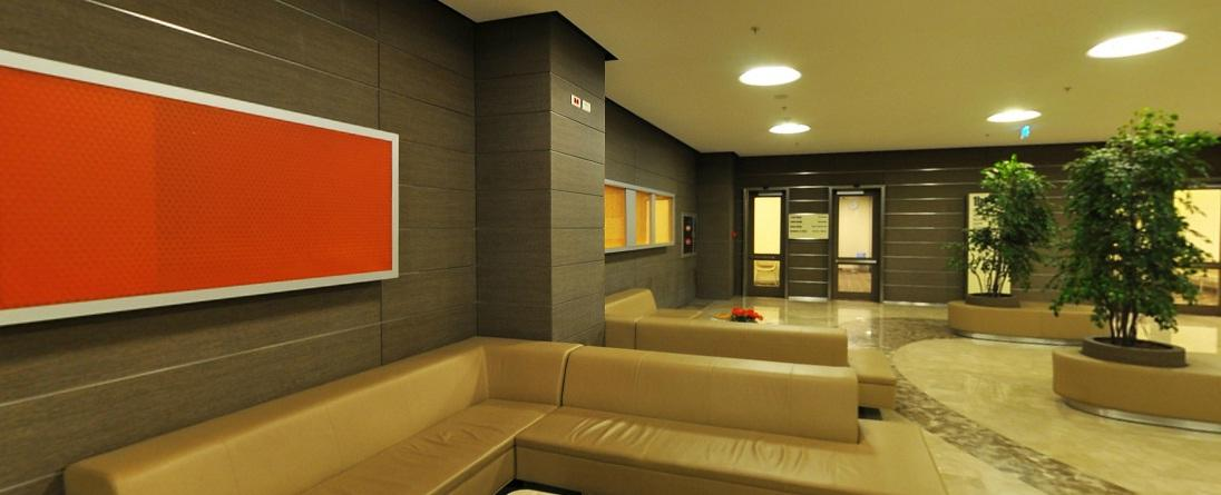 Outpatient Waiting Lounge - Acibadem Maslak Hospital - مستشفى أسيبادم ماسلاك