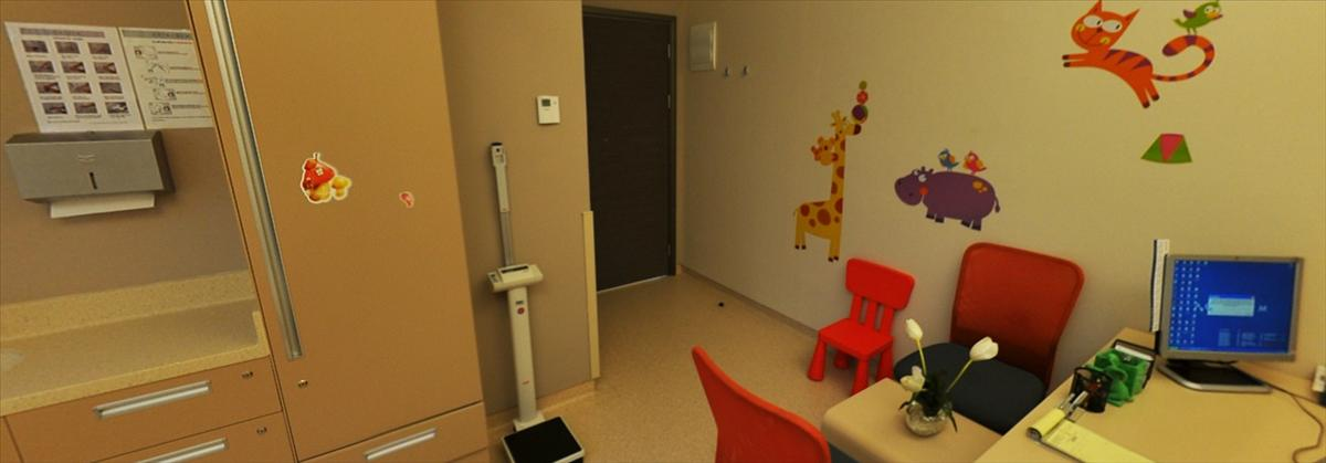 Pediatric Examination Room - Acibadem Maslak Hospital - مستشفى أسيبادم ماسلاك